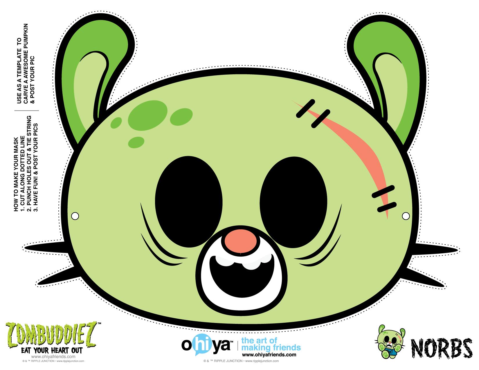 Cartoon Zombie Last Minute Halloween Costume Contest! | Ohiya ...