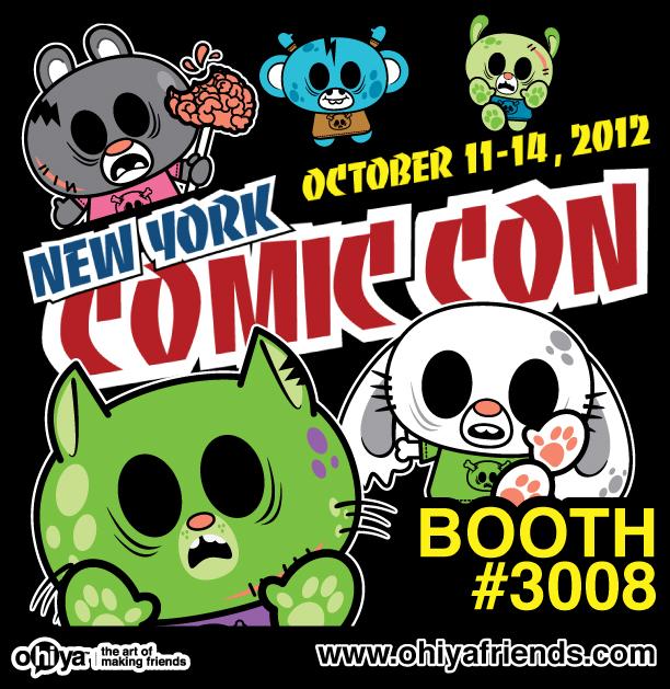 NYCC, Ohiya, Ohiyafriends.com, ohiyafriends, tharp, zombies, zombuddiez, ohio, cute