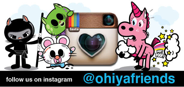 ohiya, ohiya friends, zombies, zombuddiez, unicorn, corni, ohiyafriends.com